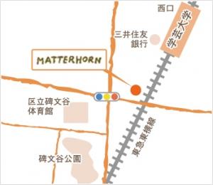 マッターホーン地図